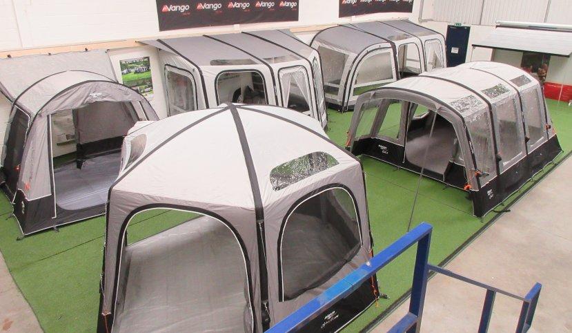 vango awning indoor display